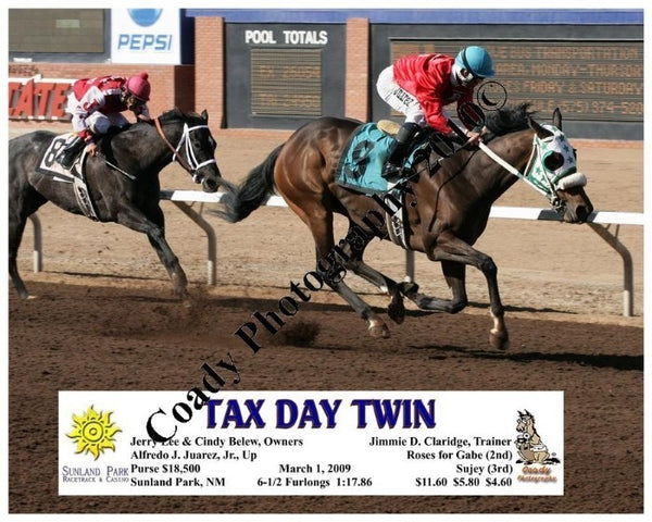Tax Day Twin  -    -  3 1 2009