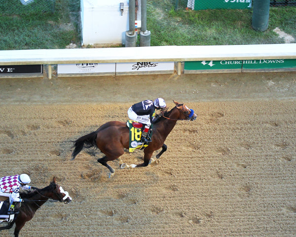 AUTHENTIC - The Kentucky Derby - 146th Running - 09-05-20 - R14 - CD - Aerial Finish 01