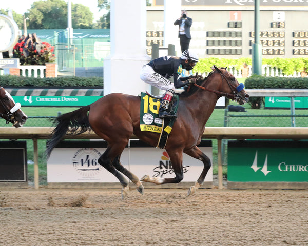 AUTHENTIC - The Kentucky Derby - 146th Running - 09-05-20 - R14 - CD - Finish 04