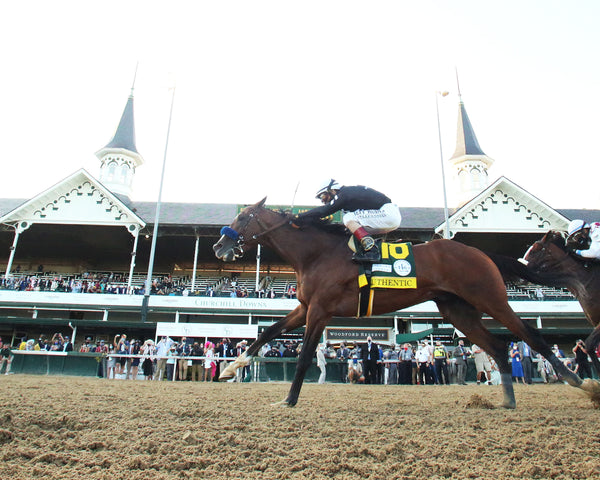 AUTHENTIC - The Kentucky Derby - 146th Running - 09-05-20 - R14 - CD - Under Rail 01