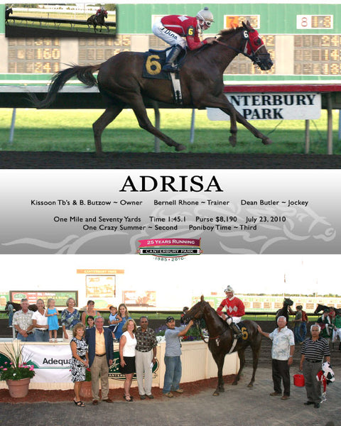 ADRISA July 23, 2010 CBY