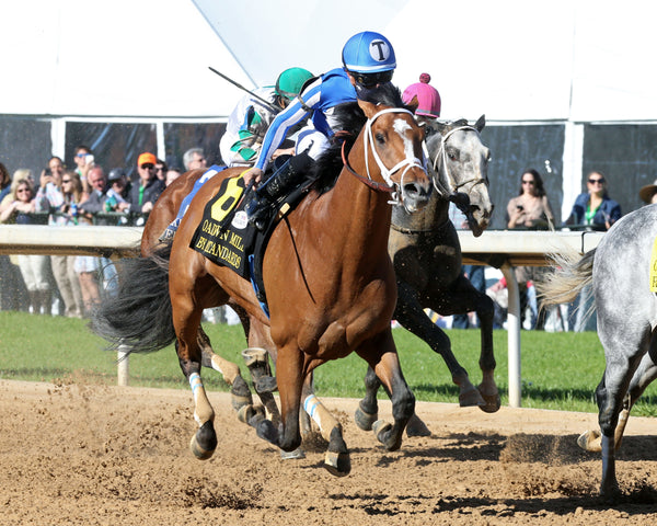 BY MY STANDARDS - The Oaklawn Mile - 3rd Running - 04-10-21 - R09 - OP - Finish 02