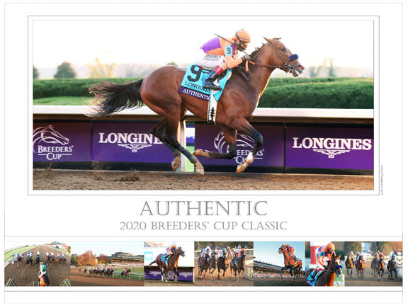 AUTHENTIC - 2020 Breeders' Cup Classic - Limited Edition 18x24 Print