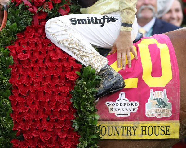 COUNTRY HOUSE - The Kentucky Derby - 145th Running - 05-04-19 - R12 - CD - Saddle Towel 01