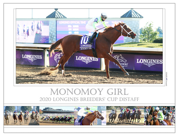 MONOMOY GIRL - Breeders' Cup Distaff G1 - Limited Edition 18x24 Print