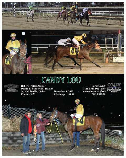 CANDY LOU - 120419 - Race 01 - MNR