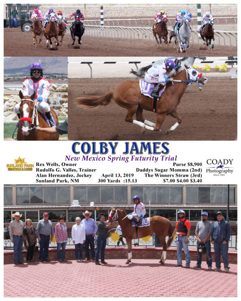 COLBY JAMES - New Mexican Spring Futurity Trial - 04-13-19 - R01 - SUN