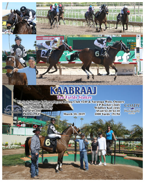KAABRAAJ - Ten Fields Stakes - 03-10-19 - R01 - TUP