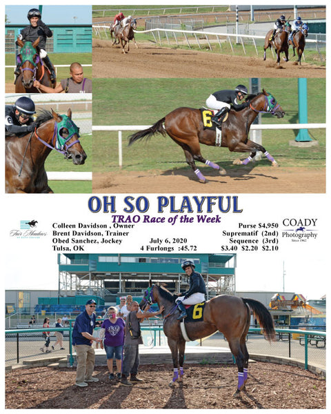 OH SO PLAYFUL  - TRAO Race of the Week - 07-06-20 - R01 - FMT