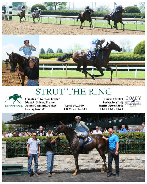 STRUT THE RING - 042419 - Race 01 - KEE