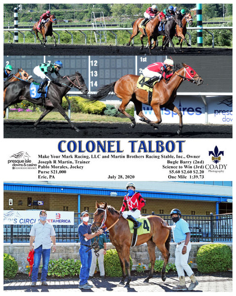 COLONEL TALBOT - 07-28-20 - R02 - PID