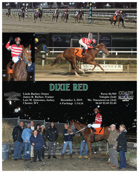 DIXIE RED - 120319 - Race 02 - MNR0