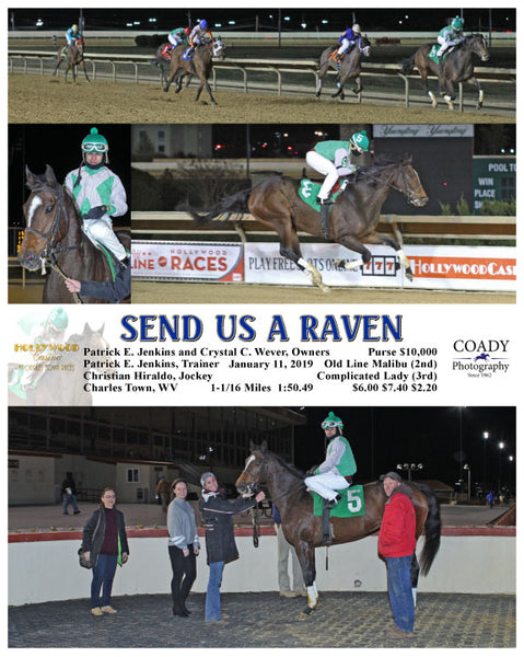 SEND US A RAVEN - 011119 - Race 02 - CT