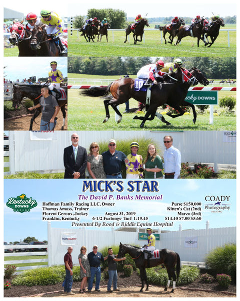 MICK'S STAR - The David P. Banks Memorial - 08-31-19 - R03 - KD