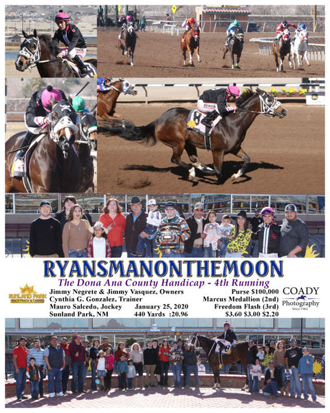 RYANSMANONTHEMOON - The Dona Ana County Handicap - 4th Running - 01-25-20 - R03 - SUN