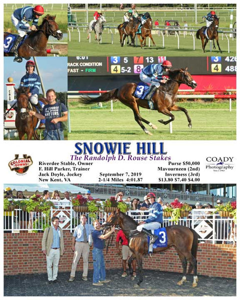 SNOWIE HILL - The Randolph D. Rouse Stakes - 09-07-19 - R03 - CNL