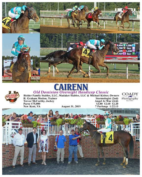 CAIRENN - Old Dominion Overnight Handicap Classic - 08-31-19 - R04 - CNL