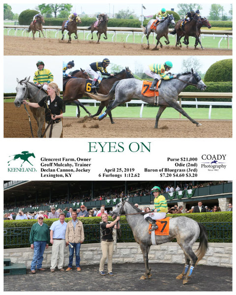 EYES ON - 042519 - Race 04 - KEE