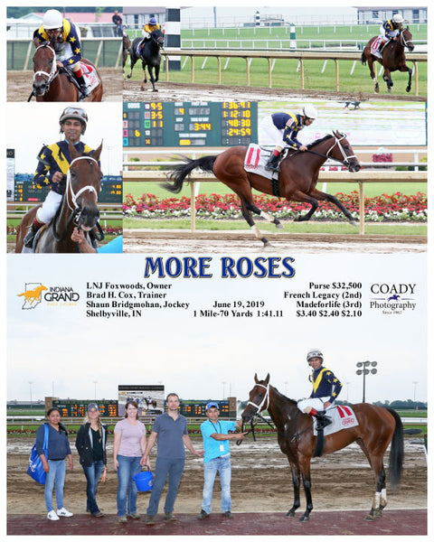 MORE ROSES - 061919 - Race 04 - IND