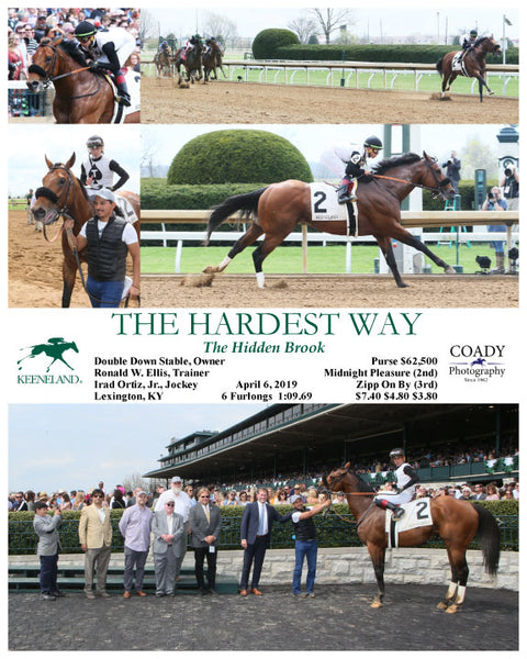 THE HARDEST WAY - 040619 - Race 04 - KEE