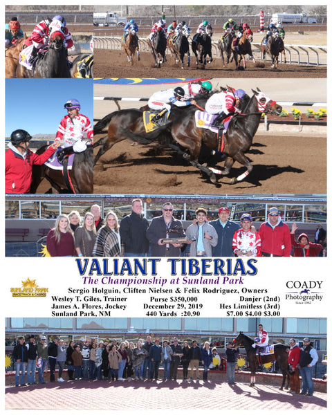 VALIANT TIBERIAS - The Championship at Sunland Park - 12-29-19 - R04 - SUN