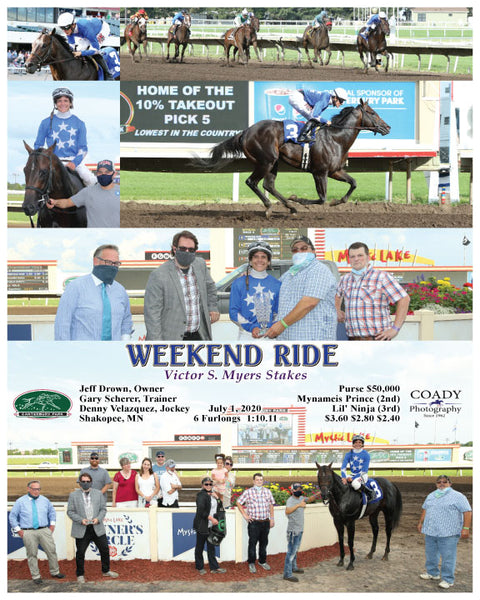 WEEKEND RIDE - Victor S. Myers Stakes - 07-01-20 - R04 - CBY