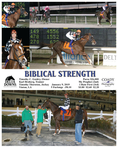 BIBLICAL STRENGTH - 010919 - Race 05 - DED
