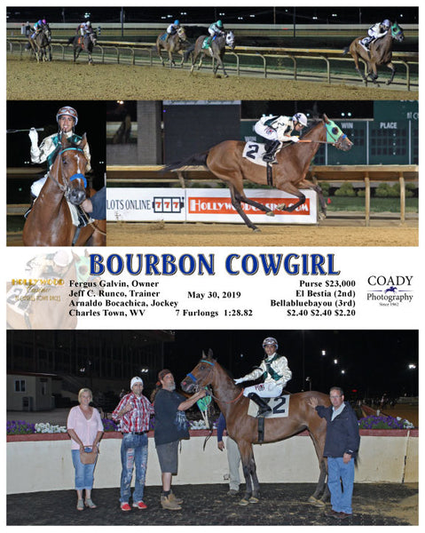 BOURBON COWGIRL - 053019 - Race 05 - CT
