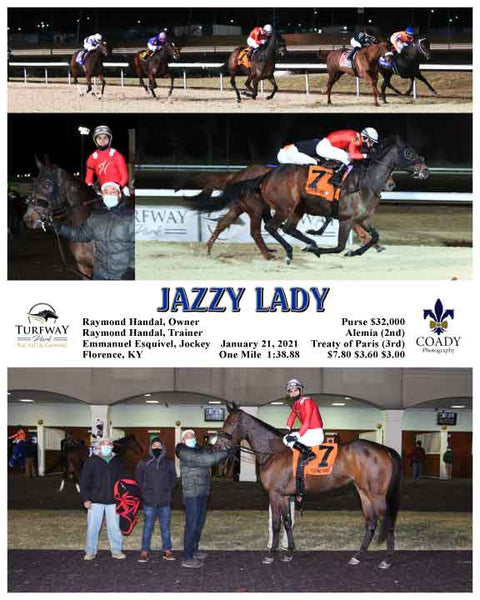 JAZZY LADY - 012121 - Race 05 - TP