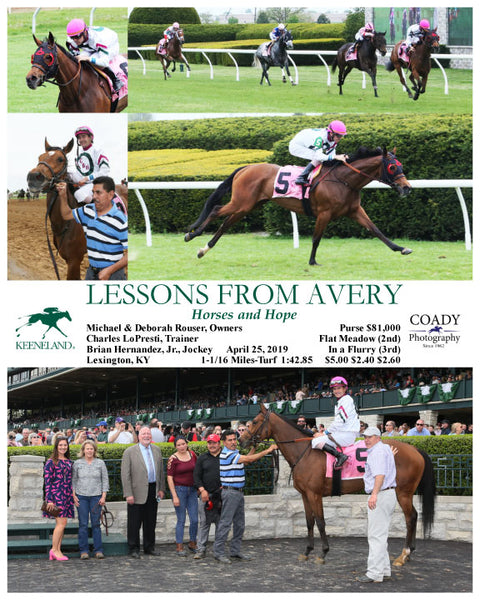 LESSONS FROM AVERY - 042519 - Race 05 - KEE