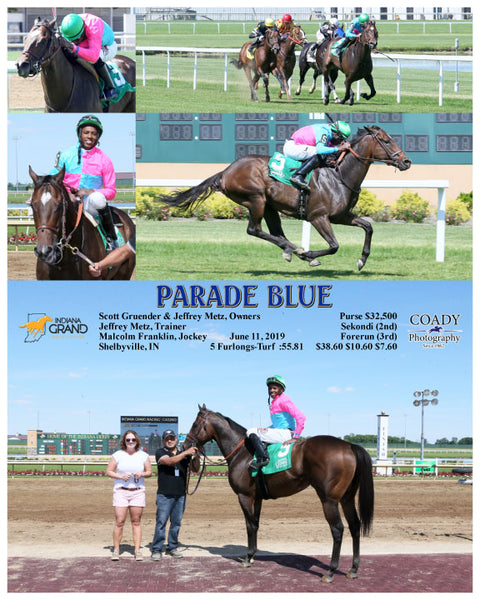 PARADE BLUE - 061119 - Race 05 - IND