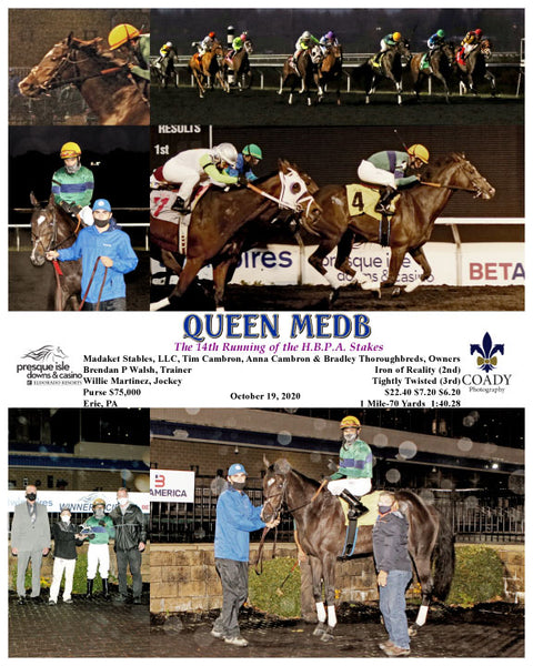QUEEN MEDB - The 14th Running of the H.B.P.A. Stakes - 10-19-20 - R05 - PID