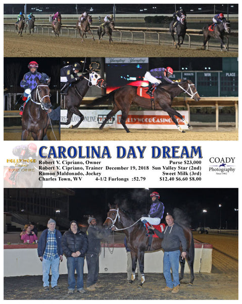 CAROLINA DAY DREAM - 121918 - Race 06 - CT