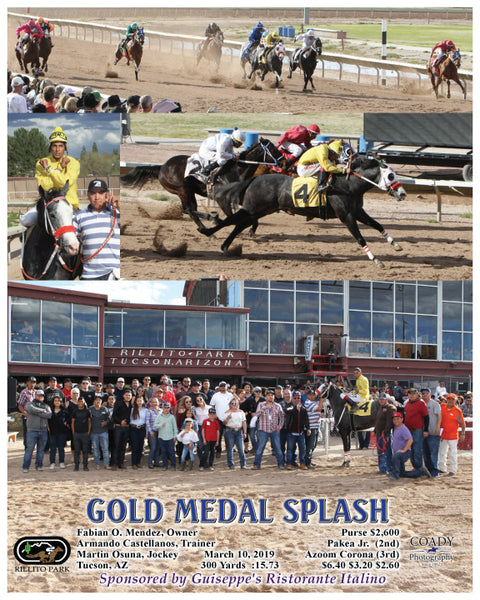 GOLD MEDAL SPLASH - 03-10-19 - R06 - RIL