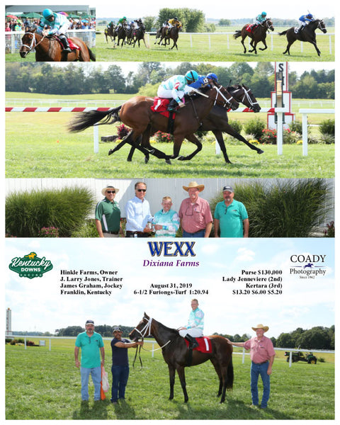 WEXX - Dixiana Farms - 08-31-19 - R06 - KD