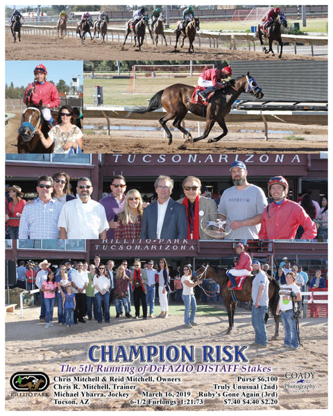 CHAMPION RISK - The 5th Running of DeFAZIO DISTAFF Stakes - 03-16-19 - R07 - RIL