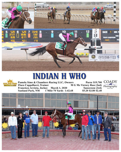 INDIAN H WHO - 03-01-20 - R07 - SUN