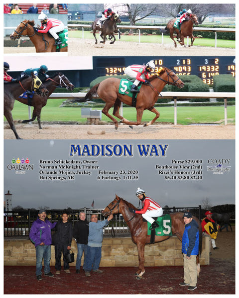 MADISON WAY - 02-23-20 - R07 - OP