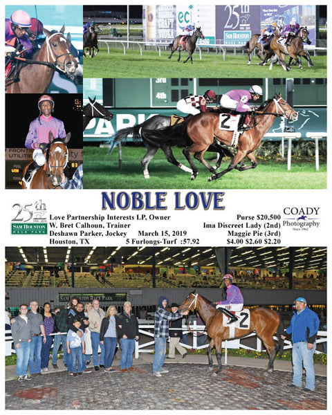 NOBLE LOVE - 03-15-19 - R07 - HOU
