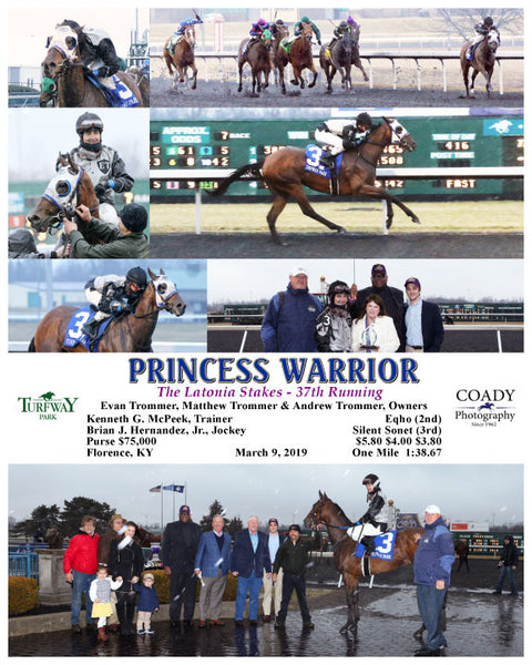 PRINCESS WARRIOR - 030919 - Race 07 - TP