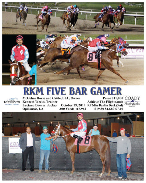RKM FIVE BAR GAMER - 10-19-19 - R07 - EVD