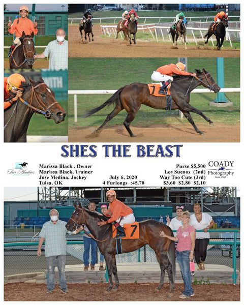 SHES THE BEAST  - 07-06-20 - R07 - FMT