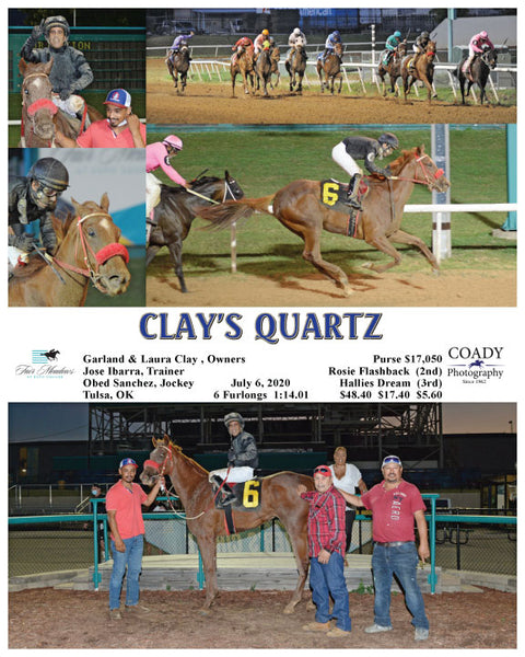 CLAY'S QUARTZ - 07-06-20 - R08 - FMT