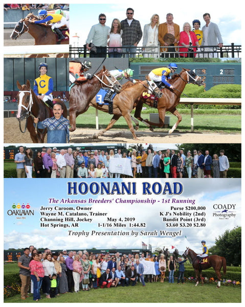 HOONANI ROAD - The Arkansas Breeders' Championship - 1st Running - 05-04-19 - R08 - OP