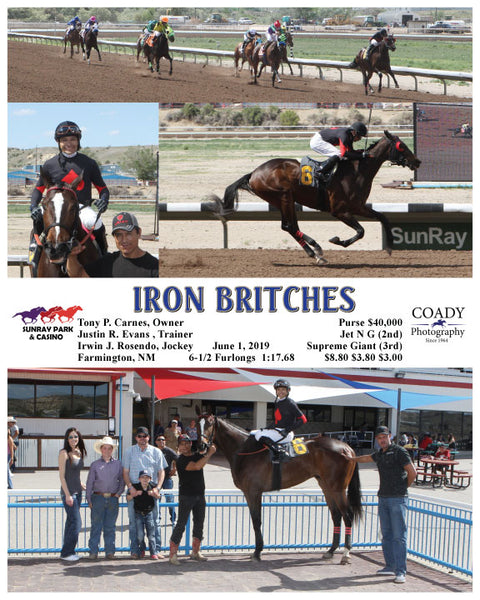 IRON BRITCHES - 06-01-19 - R08 - SRP