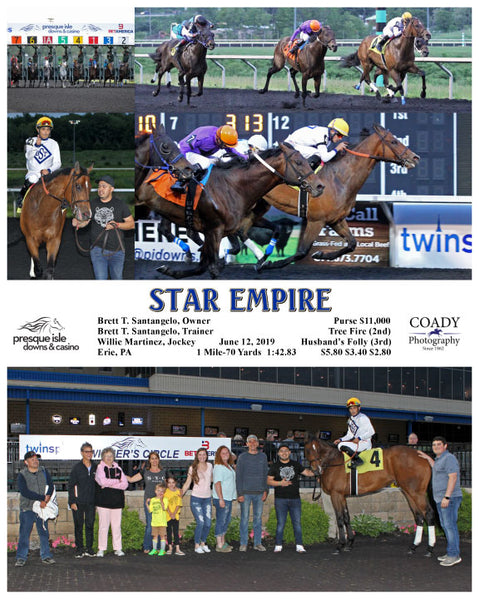 STAR EMPIRE - 06-12-19 - R08 - PID