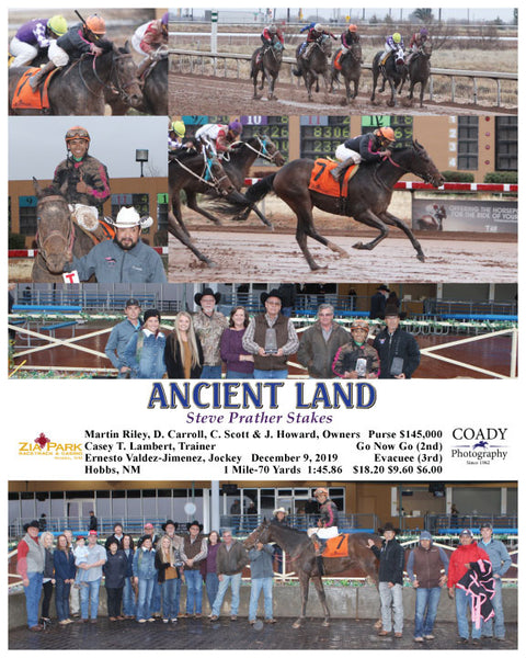 ANCIENT LAND - Steve Prather Stakes - 12-09-19 - R09 - ZIA