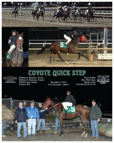 COYOTE QUICK STEP - 12-03-19 - R09 - MNR