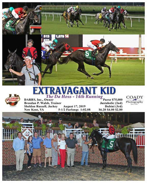 EXTRAVAGANT KID - The Da Hoss - 14th Running - 08-17-19 - R09 - CNL