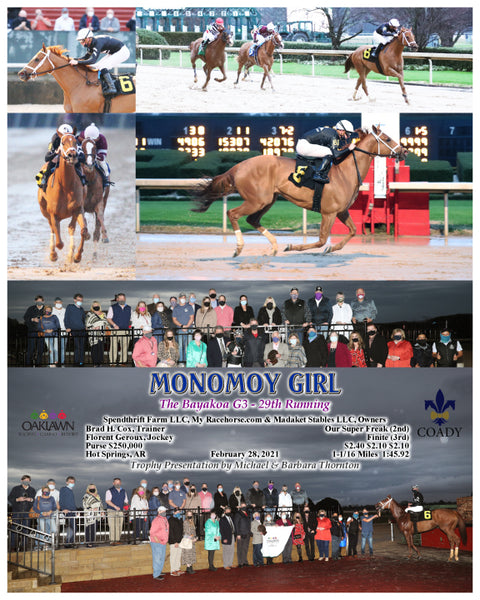 MONOMOY GIRL - The Bayakoa G3 - 29th Running - 02-28-21 - R09 - OP - Composite 2